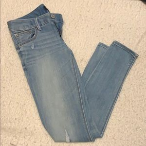 Express Jeans Stella low rise Ankle skinny 0